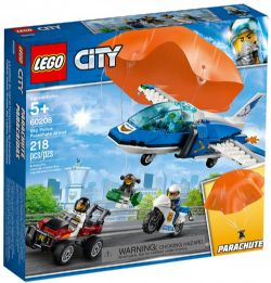 CITY -  SKY POLICE PARCHUTE ARREST (218 PIECES) 60208