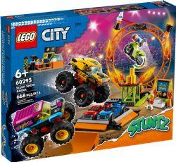 CITY -  STUNT SHOW ARENA (668 PIECES) 60295