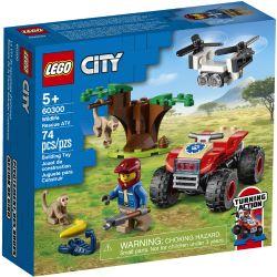 CITY -  WILDLIFE RESCUE ATV (74 PIECES) 60300