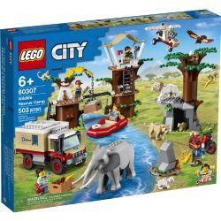 CITY -  WILDLIFE RESCUE CAMP (503 PIECES) 60307