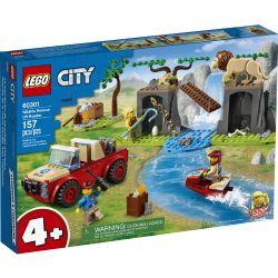 CITY -  WILDLIFE RESCUE OFF ROADER (157 PIECES) 60301