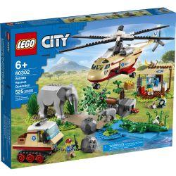 CITY -  WILDLIFE RESCUE OPERATION (525 PIECES) 60302