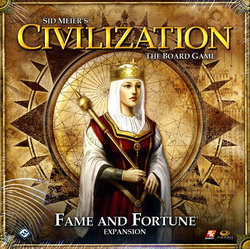 CIVILIZATION -  SID MEIER'S - FAME AND FORTUNE EXPANSION