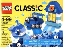 CLASSIC -  BLUE CREATIVITY BOX (78 PIECES) 10706