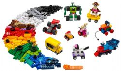 CLASSIC -  BRICKS AND WHEELS (653 PIECES) 11014