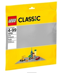 CLASSIC -  BUILDING PLATE (1) (48X48) - GREY 10701