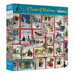 CLASSIC CHRISTMAS -  CHRISTMAS STAMPS (1000 PIECES)