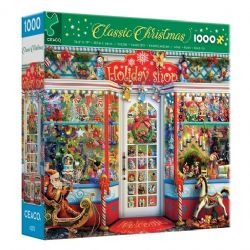 CLASSIC CHRISTMAS -  HOLIDAY SHOP (1000 PIECES)