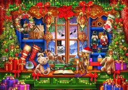 CLASSIC CHRISTMAS -  SANTA SHOP (1000 PIECES)