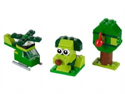 CLASSIC -  CREATIVE GREEN BRICKS (60 PIECES) 11007