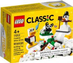 CLASSIC -  CREATIVE WHITE BRICKS (60 PIECES) 11012