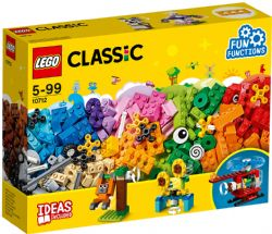 CLASSIC -  LEGO BRICKS AND GEARS (244 PIECES) 10712