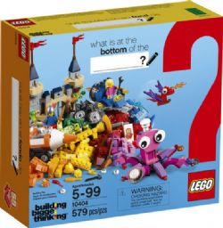 CLASSIC -  OCEAN'S BOTTOM (579 PIECES) -  BUILDING BIGGER THINKING 10404