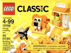 CLASSIC -  ORANGE CREATIVITY BOX (60 PIECES) 10709