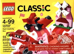 CLASSIC -  RED CREATIVITY BOX (55 PIECES) 10707