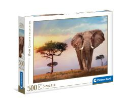 CLEMENTONI -  AFRICAN SUNSET (500 PIECES)