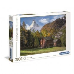 CLEMENTONI -  FASCINATION WITH MATTERHORN (2000 PIECES)