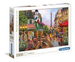 CLEMENTONI -  FLOWERS IN PARIS (1000 PIECES)