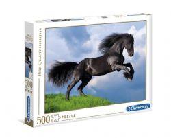 CLEMENTONI -  FRESIAN BLACK HORSE (500 PIECES)