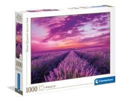 CLEMENTONI -  LAVENDER FIELDS (1000 PIECES)