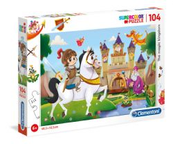 CLEMENTONI -  MAGIC KINGDOM (104 PIECES)