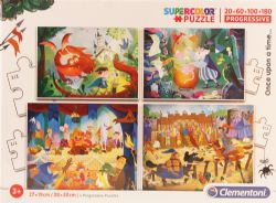 CLEMENTONI -  ONCE UPON A TIME (4 IN 1 20+60+100+180 PIECES)