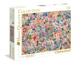 CLEMENTONI -  STAMPS (1000 PIECES)