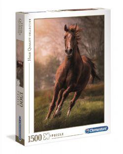 CLEMENTONI -  THE HORSE (1500 PIECES)