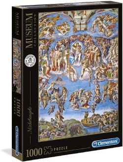 CLEMENTONI -  THE LAST JUDGMENT (1000 PIECES) -  MUSEUM COLLECTION