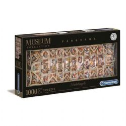 CLEMENTONI -  THE SISTINE CHAPEL CEILING (1000 PIECES) -  PANORAMA