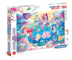 CLEMENTONI -  UNDER THE SEA (104 PIECES)