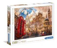 CLEMENTONI -  VINTAGE LONDON (1500 PIECES)