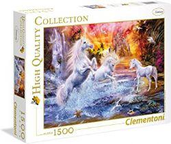 CLEMENTONI -  WILD UNICORNS (1500 PIECES)