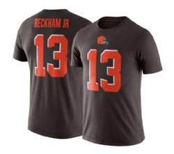 CLEVELAND BROWNS -  BECKHAM JR. #13 T-SHIRT - BROWN