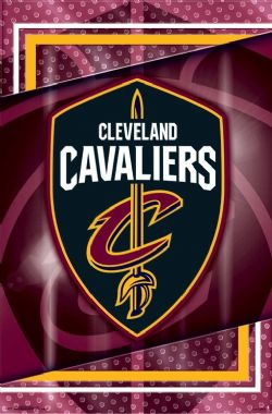 CLEVELAND CAVALIERS -  LOGO POSTER (22