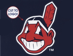 CLEVELAND INDIANS -  5X6 DECAL REMOVABLE AND REUSABLE