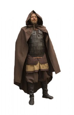 CLOAKS -  READY FOR BATTLE CAPE - BROWN (MEDIUM/LARGE)