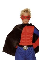 CLOAKS -  SUPER HERO CAPE CHILD - BLACK