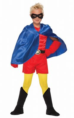 CLOAKS -  SUPER HERO CAPE CHILD - BLUE