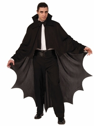 CLOAKS -  VAMPIRE CAPE - BLACK