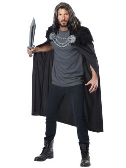 CLOAKS -  WOLF CLAN WARRIOR CAPE (ADULT - ONE SIZE)
