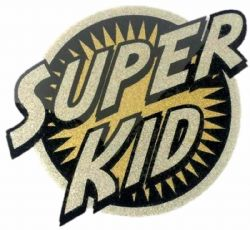 CLOTHING PATCHES -  HEAT TRANSFERS - SUPER KID