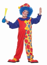 CLOWN -  CLOWN SLEEVES COSTUME (CHILD)