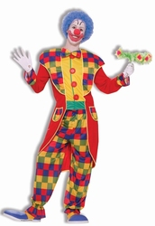 CLOWN -  CLOWN TOXEDO COSTUME (ADULT - ONE SIZE)