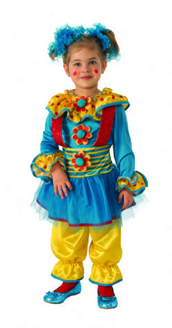 CLOWN -  DOTTY THE CLOWN COSTUME (INFANT & TODDLER)