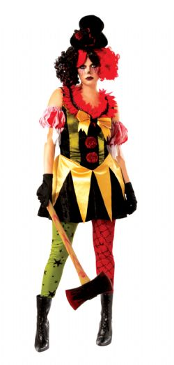 CLOWN -  EVIL CLOWN COSTUME (ADULT)