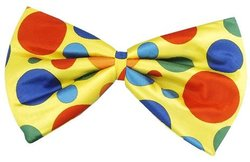 CLOWN -  JUMBO CLOWN FOAM BOWTIE