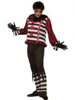 CLOWN -  MISTER MAYHEM THE CLOWN COSTUME (ADULT - ONE SIZE)