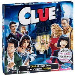 CLUE -  CARD GAME (BILINGUAL)