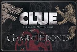 CLUE -  CLUE - GAME OF THRONES